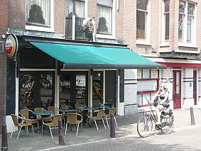 travel and talk amsterdam cafe photograph,travel and talk netherlands,travel amsterdam,travel holland,food amsterdam,travel writing tracey forbes
