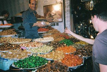 Travel and Talk Sweet Shop Photograph Fes Morocco