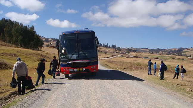 travel and talk latin america bus photograph,travel,travel writing hannah vickers,travel south america,travel latin america,travel and talk photograph