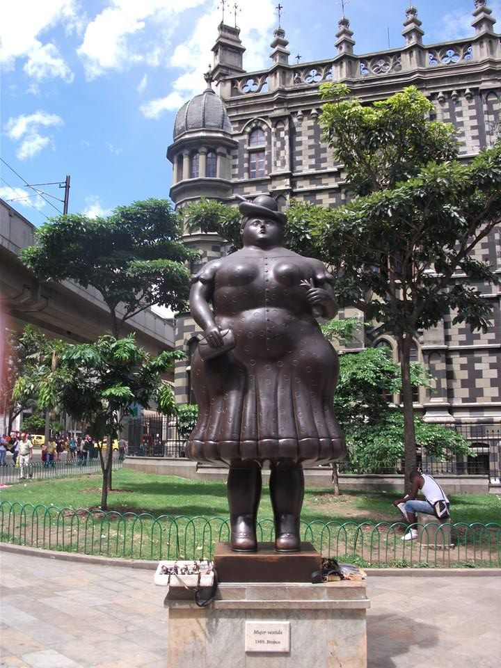 colombia travel and talk photograph,botero sculpture photograph,travel colombia,travel south america,medellin,matt thomas travel writing