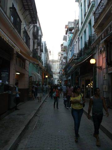 havana calle obispo photograph,travel and talk photograph,travel havana