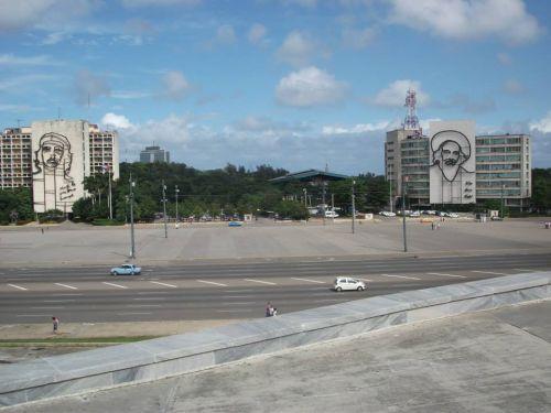 travel and talk plaza de la revolucion photograph,castro photograph,che guevara photograp,havana photograph