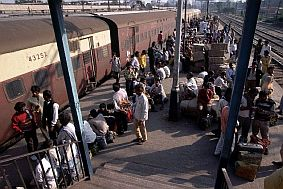Travel and Talk Rail Station India Photograph