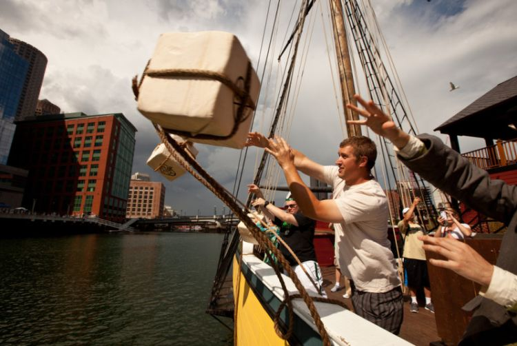 boston tea party ship and museum travel and talk photograph,travel boston,travel usa,travel north america,boston photograph,travel writing thomas mcgovern,travel and talk boston