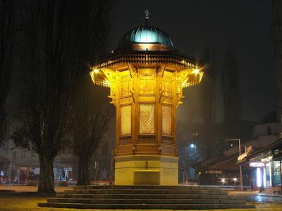 Bascarsija Square photograph, Bascarsija Square photograph travel and talk,sarajevo photograph,bosnia photograph