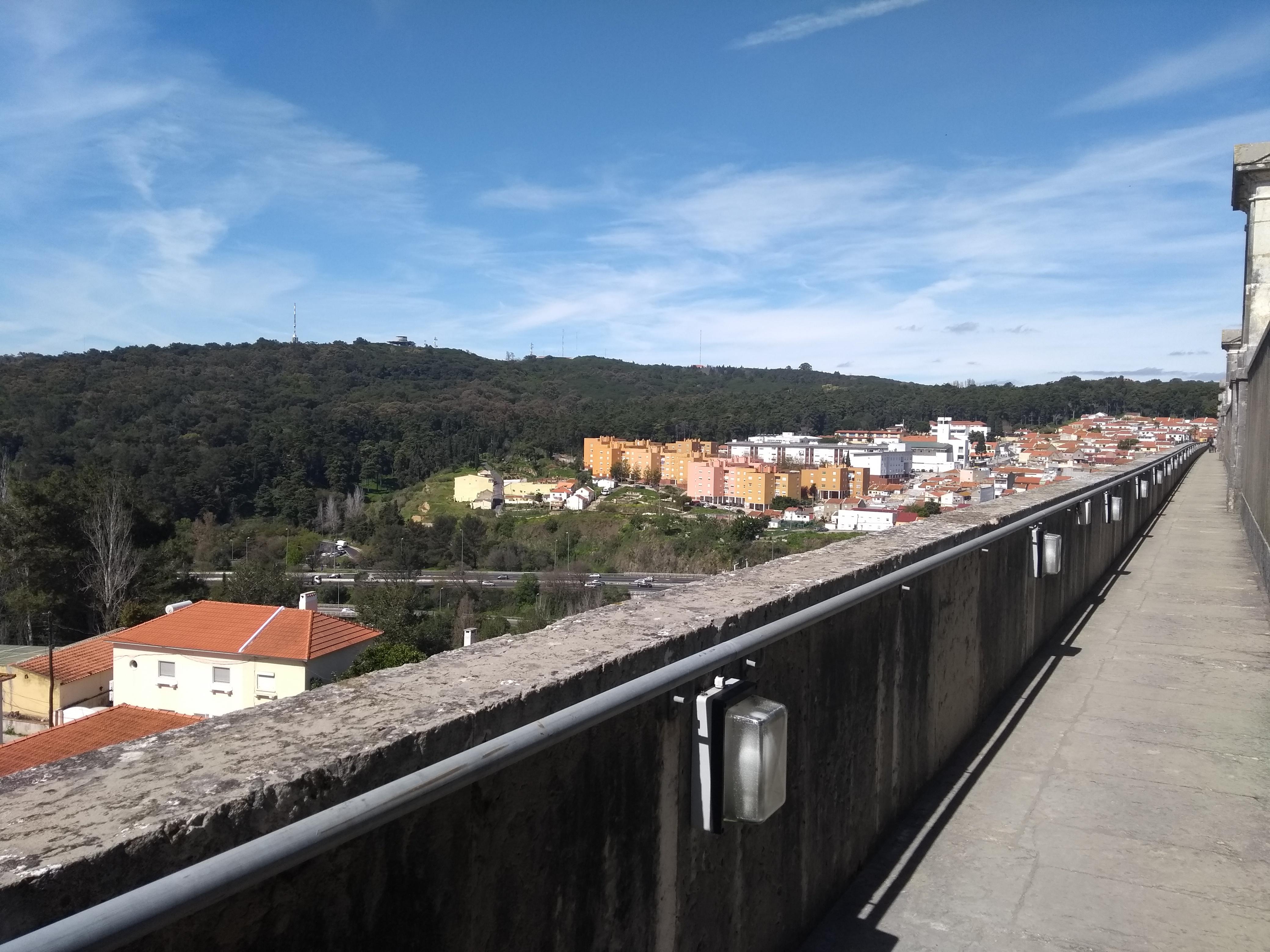 aguas livres aqueduct lisbon photograph,lisbon photograph,travel and talk